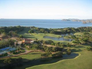 Playa Conchal villa photo - View of Golf course and ocean at Reserva Conchal Golf Resort