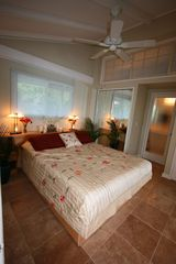 Kapoho house photo - Restful night's sleep with view to the water (queen size bed).