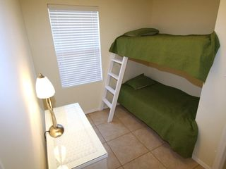 South Padre Island house photo - Upper unit - Adjacent to 2nd bedroom is the 3rd bedroom with twin bunks