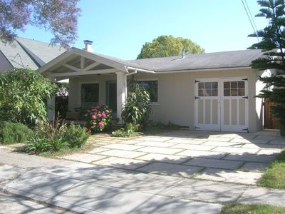 Wonderful CA Bungalow with welcoming front porch & 2 offstreet parking spaces