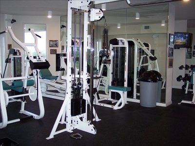 Fitness Center open 7 am - 8 pm