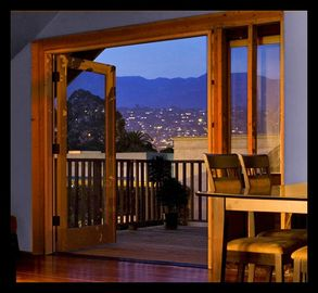 Santa Barbara condo rental - SWEET RIVIERA VIEW SPARKLES IN THE EVENING