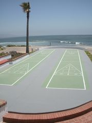 Las Gaviotas house photo - The shuffleboard court is right by the beach!