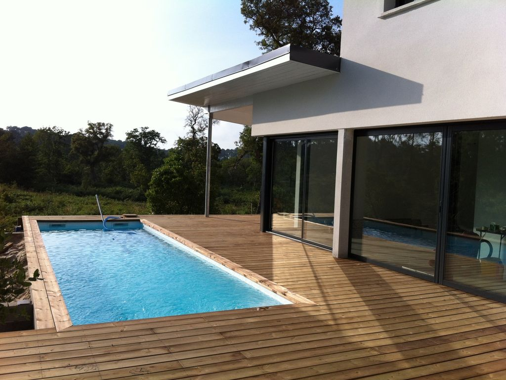 villa d 39 architecte avec piscine chauffee a moliets et maa dans les landes landes 1051024. Black Bedroom Furniture Sets. Home Design Ideas