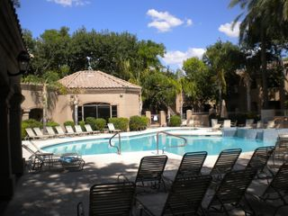 Scottsdale condo photo - Heated Pool / Hot Tub / Gym / BBQ area right behind the clubhouse