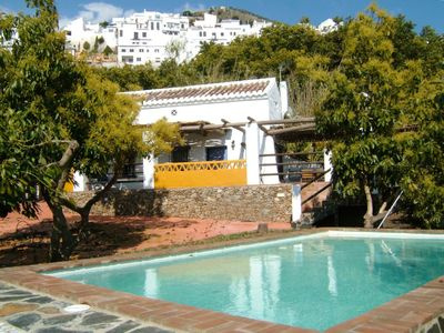 Frigiliana: Cottage, with garden, swimming pool, whirlpool a few meters from the village