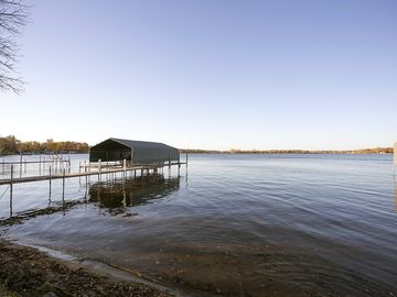 Orono house rental - Sandy bottom, crystal clear water, serene Crystal Bay.