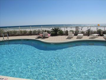 Beach Front Community Pool!