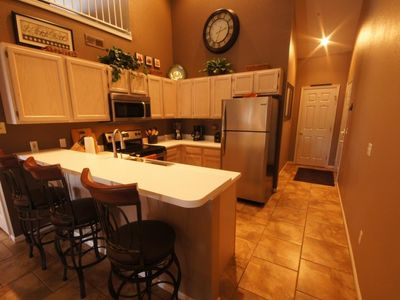 The Kitchen is Highly Upgraded and is Fully-Equipped for your Lake Getaway
