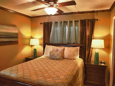 South Padre Island condo rental - Guest room with HDTV and DVD player