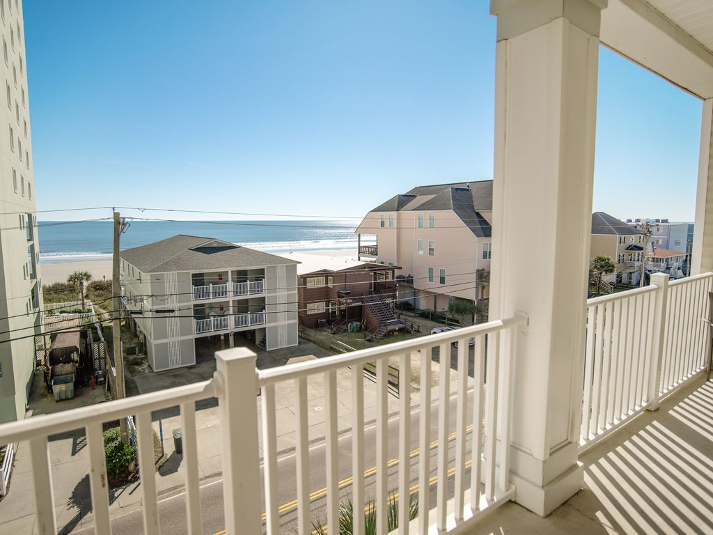 Cherry Grove Villas Unit 406 6 Br Best Views In North Myrtle Beach Large 6 Bedroom