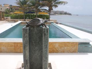 Puerto Morelos villa photo - Turtle Fountain and Pool