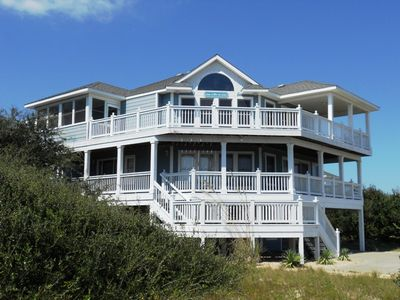 Southern Shores house rental - Large house on private lot with plenty of parking