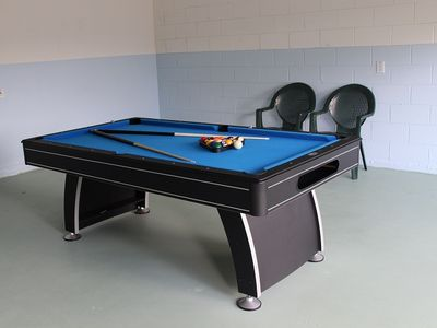 Game Room with Brand New Pool Table