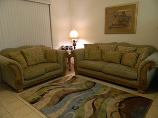 Windsor Palms house photo - Stylish comfy living room!