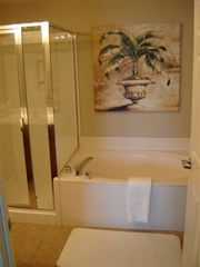Destin condo photo - A Garden Tub that you have an ocean view from