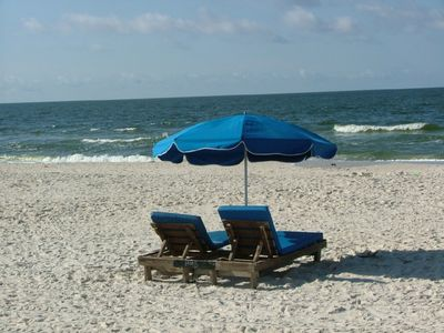 Fort Morgan condo rental - Relax and Watch the Waves