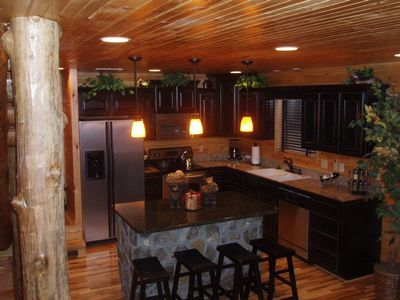 Lake Nantahala lodge rental - Kitchen Area