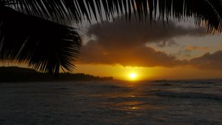 Kahuku - Turtle Bay condo photo - Sunset from Turtle Bay Hotel