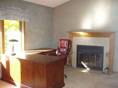 Office or can be used as a family room