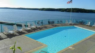 Osage Beach condo photo - The Point Pool is easy to access just behind the condo & visible from the Deck
