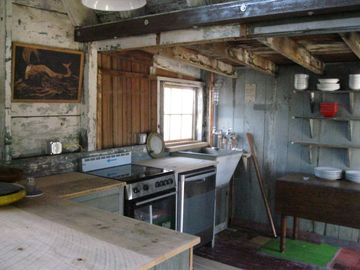 kitchen -- open to the barn