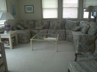 Beach Haven house photo - sectional seating upstairs