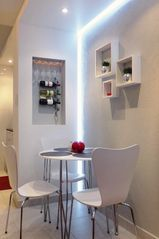 Isla Verde apartment photo - Dining area. Mini wine /glass cellar