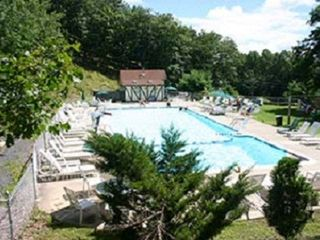 Bushkill house photo - Mountainside Pool within Community