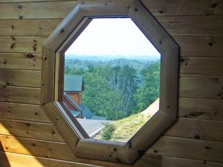 Pigeon Forge cabin photo - View from Lofted Game Room