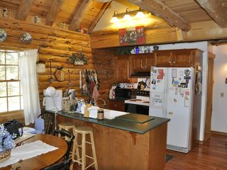 Allen Falls Flow cabin photo - Fully Outfitted Kitchen.