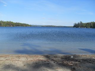 Moultonborough cottage photo - town beach at long island has life guards in summer/ we supply pass