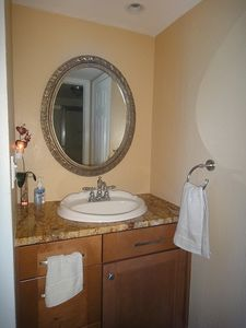 Fort Myers Beach condo rental - Master Vanity