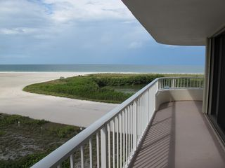 South Seas Club condo photo - View from balcony over entire Marco Beach