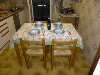 Livorno apartment photo - Large Kitchen with Dining Table
