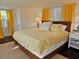 Edgartown house photo - Bedroom #1 - Master Suite With King Bed, Large Screen TV, Full Bath With Shower. Second Floor