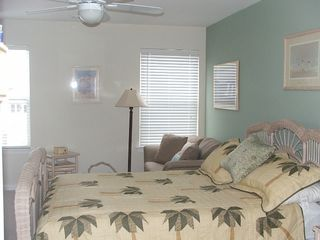 Wildwood condo photo - Master Bedroom queen plus twin sleeper