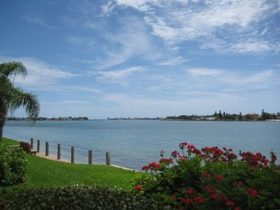 Isla del Sol condo rental - Waterview from Patio