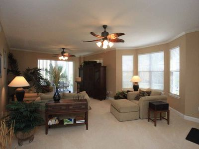 Ponce Inlet condo rental - Living Area - spacious and comfortable