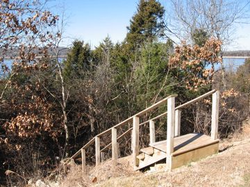 Easy access to Lake for exploring the natural area and lakeshore.