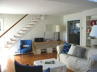 Sag Harbor house photo - Living area (BG right the kitchen)