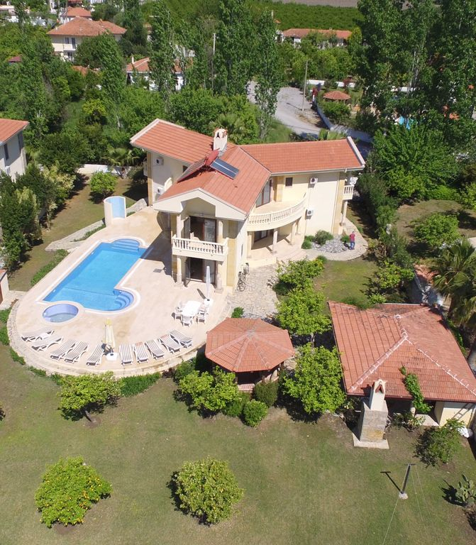 Villa Eanda in Dalyan with 52sqm Private Salt Pool and Stunning Views.