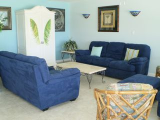 Little Torch Key house photo - Beautiful blues with great seating area for relaxing and visiting.