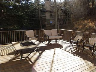 Beaver Creek house photo - Fire Pit on the Furnished Deck