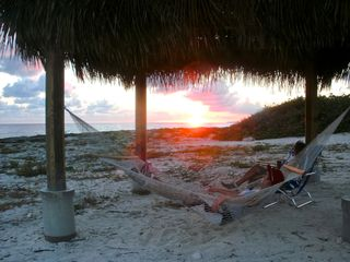 Cayman Brac house photo - Sunset from the cabana