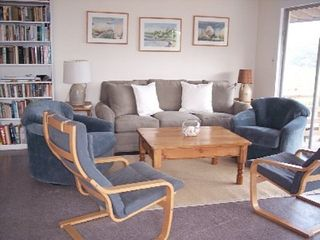 Chilmark cottage photo - Living room