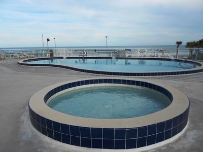 Heated Swimming Pools, Beach Side