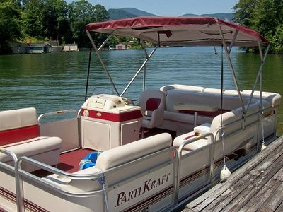 Pontoon Available w/Extra Fee