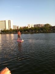 Vacation Homes in Ocean City condo photo - Paddle boarding in the canal
