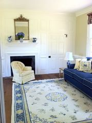 Gloucester estate photo - Steal away to this bright, beautiful sitting room to muse...or snooze.